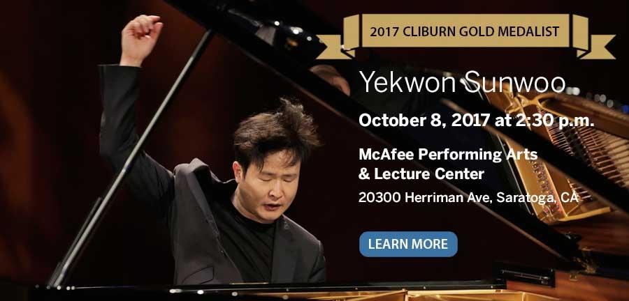 Yekwon Sunwoo in concert October 8, 2017