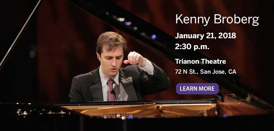 Kenny Broberg in concert January 21, 2018